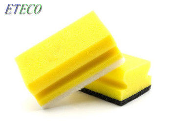 Green Yellow Dish Cleaning Brush Bulk Pack High Temperature Water Resistance